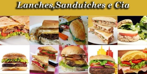 Lanches, Sanduiches e Cia